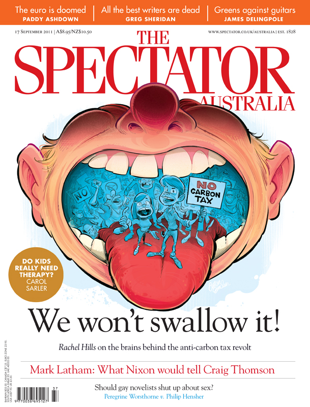 'Rallied' cover art for The Spectator Australia © Anton Emdin 2011
