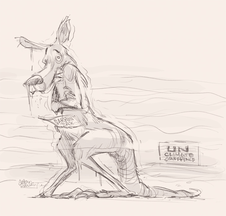 Cool Roo sketch © Anton Emdin 2011