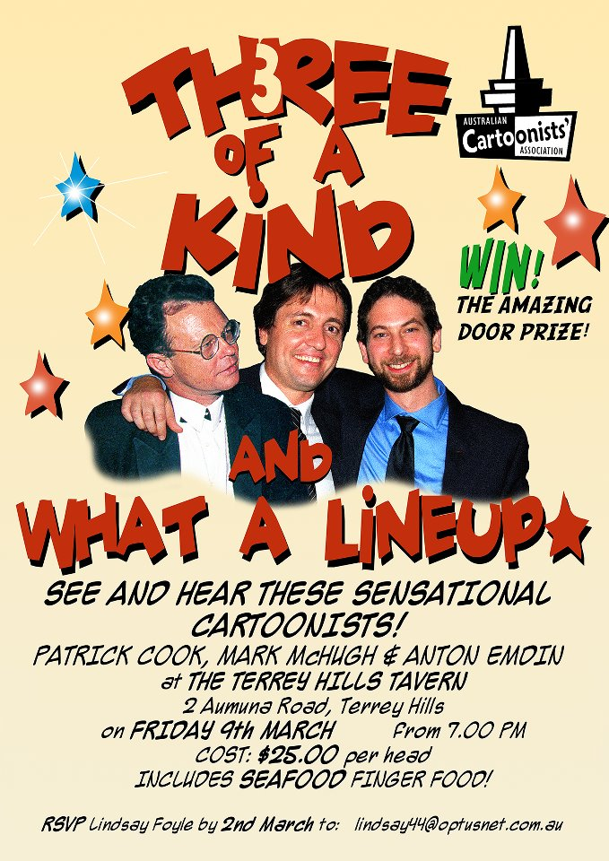 Three of a Kind flyer 2012