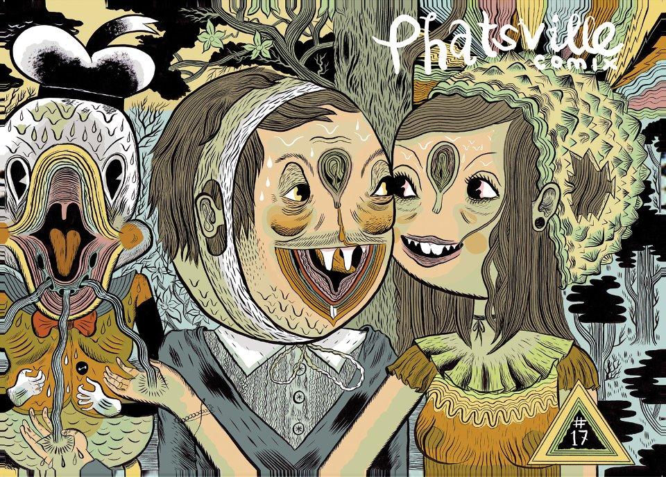 Phatsville #17 cover © Ben Sea / Ben Constantine 2012