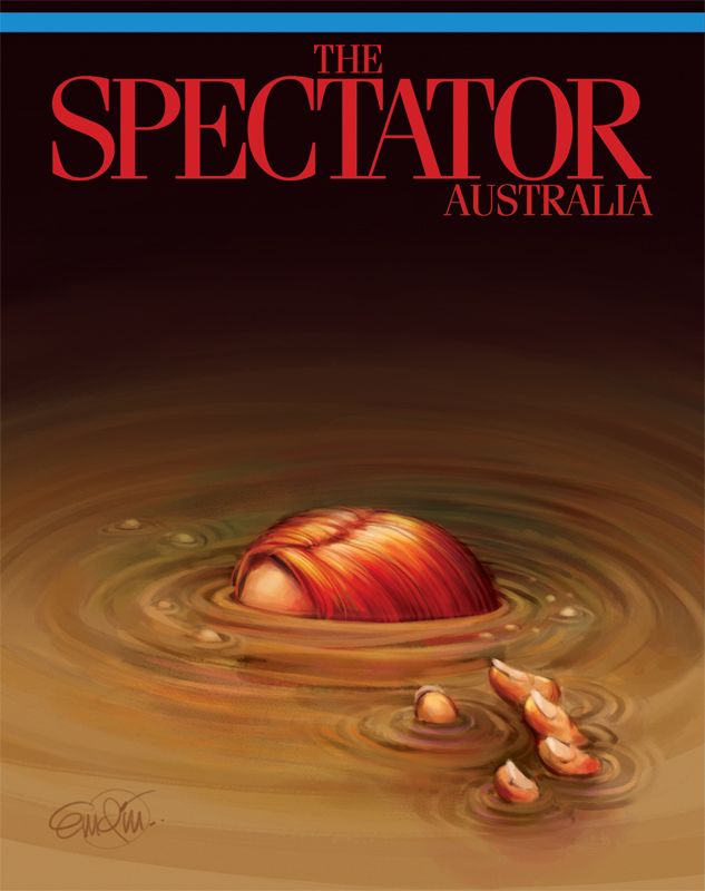 Spill art for The Spectator Australia Illustration © Anton Emdin 2013.  All rights reserved.