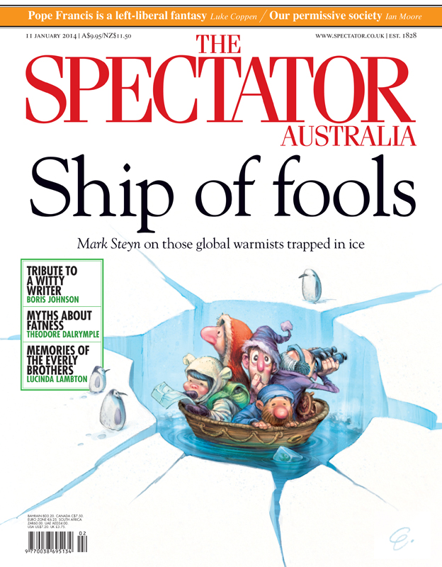 'Ship of Fools' Cover art for The Spectator -- Illustration © Anton Emdin 2014.  All rights reserved.