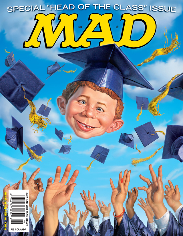 MAD #527 Cover