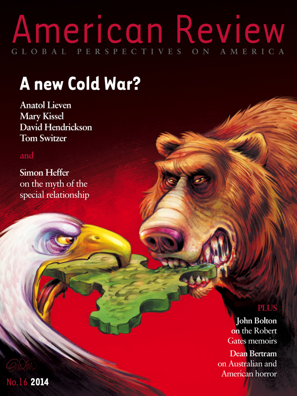 Illustration on The New Cold War between Russia and the USA for The American Review by and © Copyright Anton Emdin 2014.  All Rights Reserved.  Please do not reproduce without express written permission.