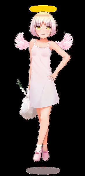 Anime Angel Girl - Groceries.png