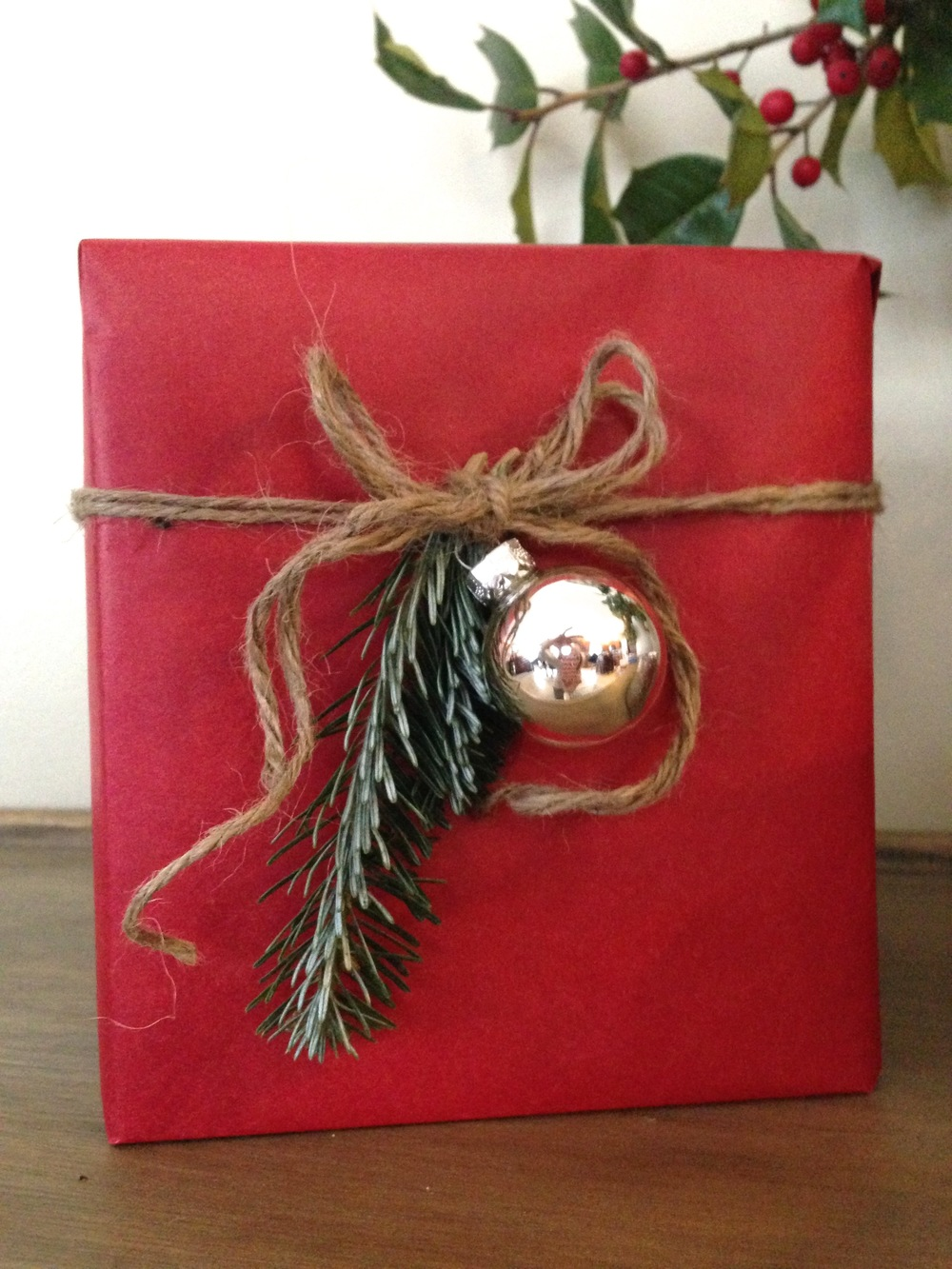 christmas decor on a budget :: wrapped up boxes :: SurvivingSarah.com