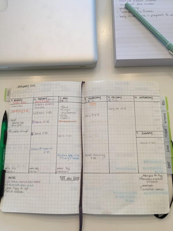 DIY Moleskin Planner