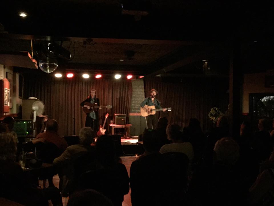 Packed show at the BlackSheep inn in Wakefield, as part of my duo tour with Ben Kunder.