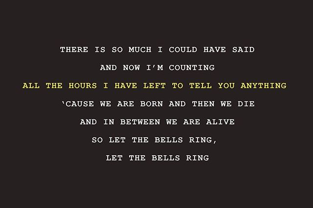 Words. #allthehoursihavelefttotellyouanything