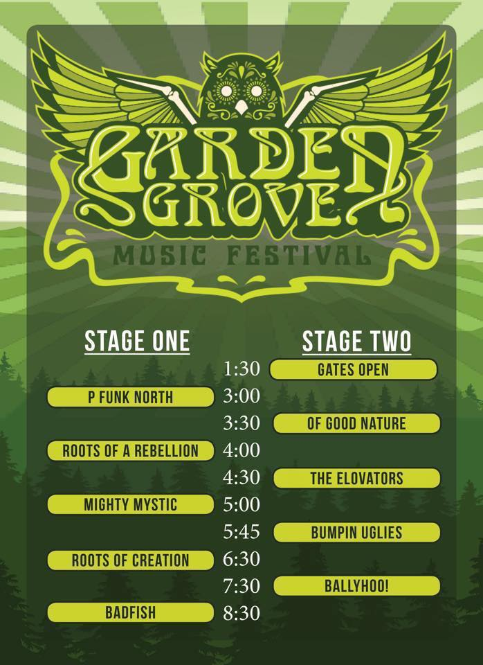 Garden Grove Festival Featuring Badfish A Tribute To Sublime