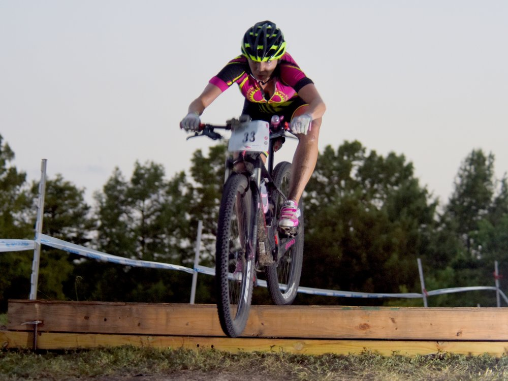Stephanie Cole - Houston, TX - Mountain Biker