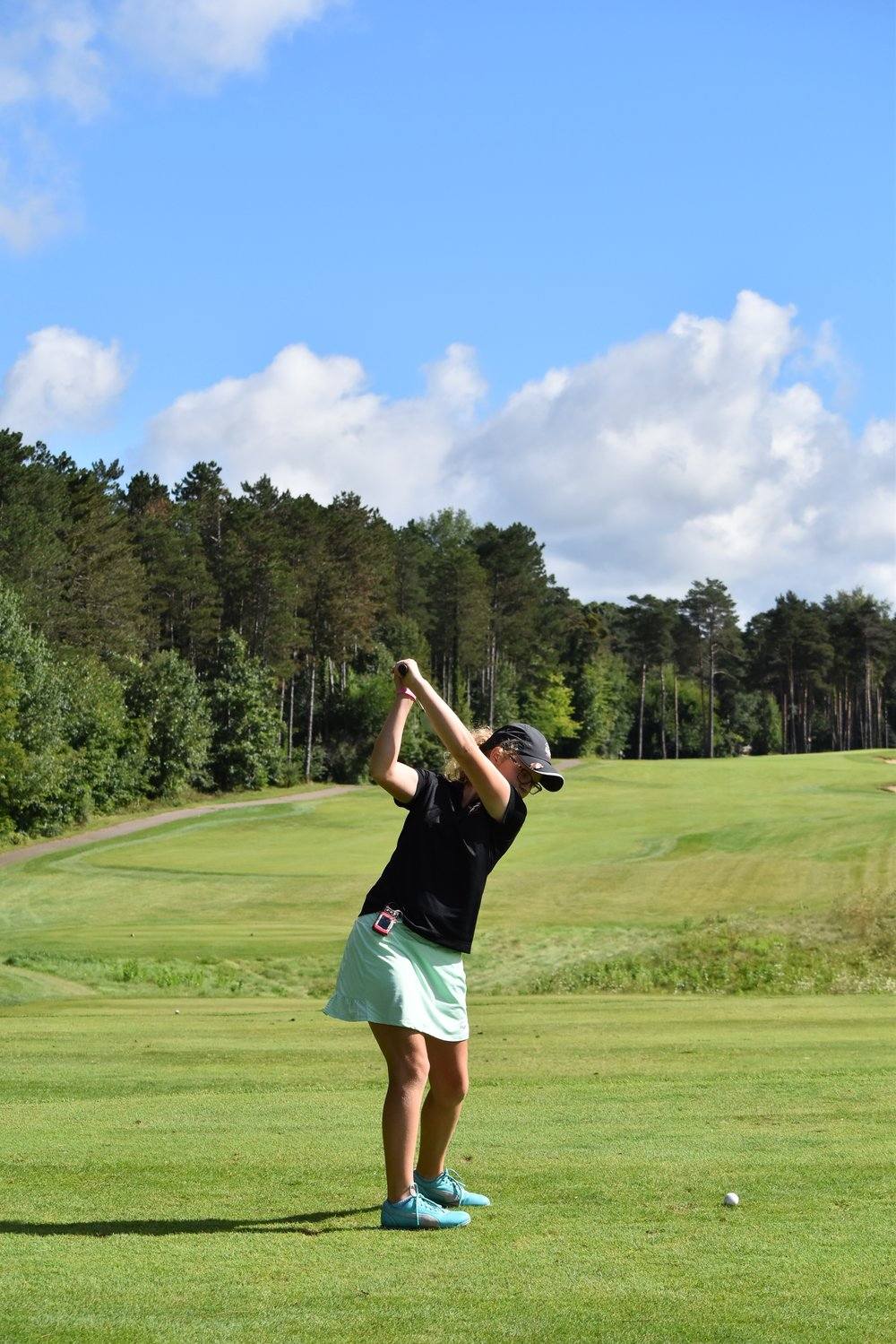 Olivia Grace Ohmer - Pinckney, Michigan - Golfer