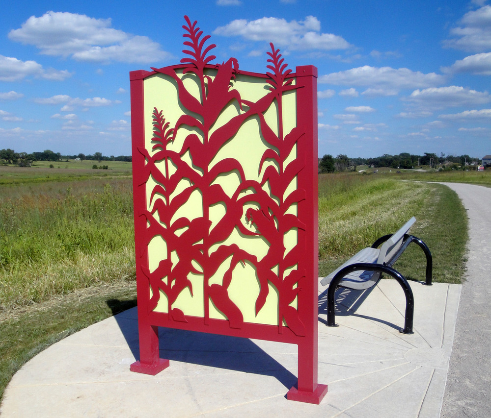 WE DESIGN SCULPTURAL  TRAIL SIGNS