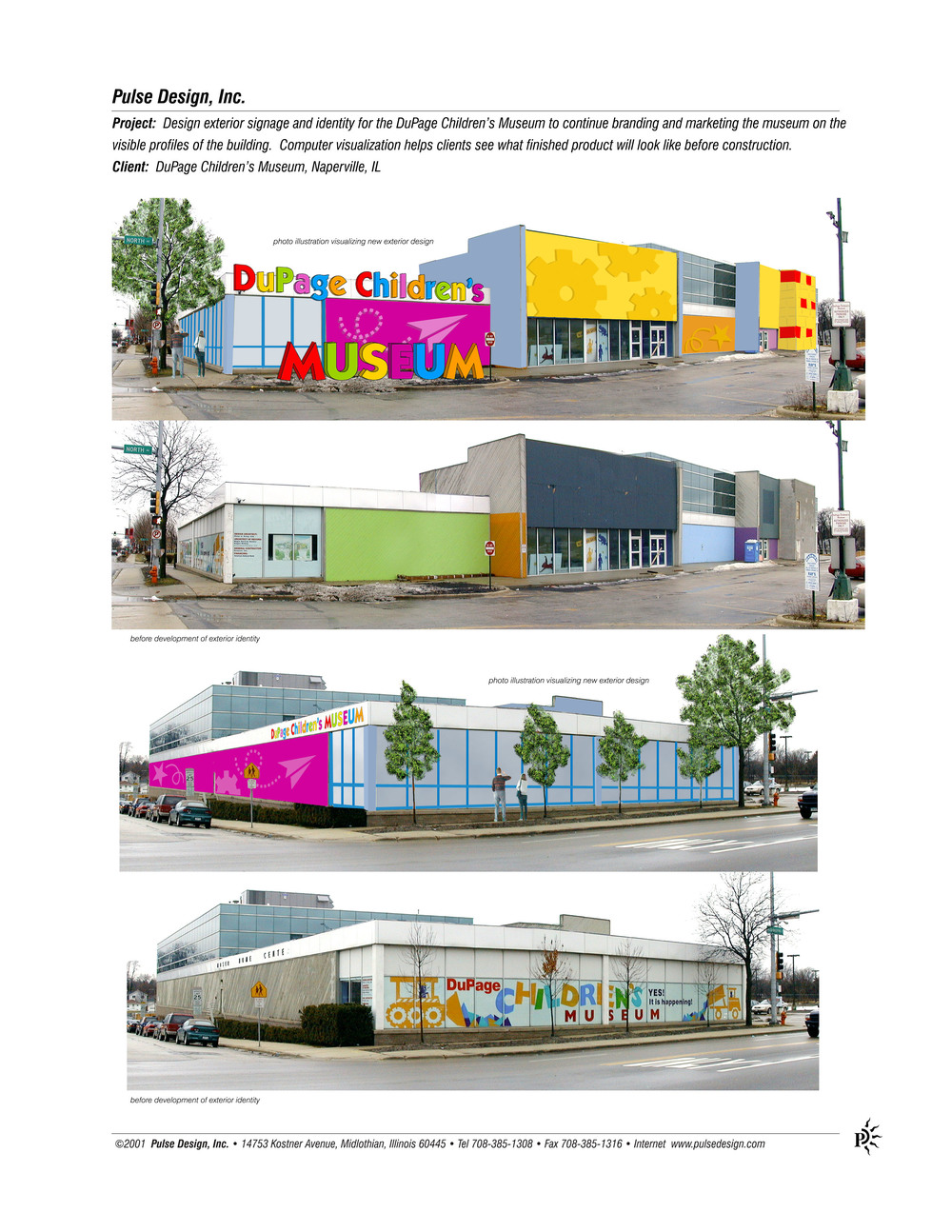DCM Exterior Visualization Pulse Design Inc