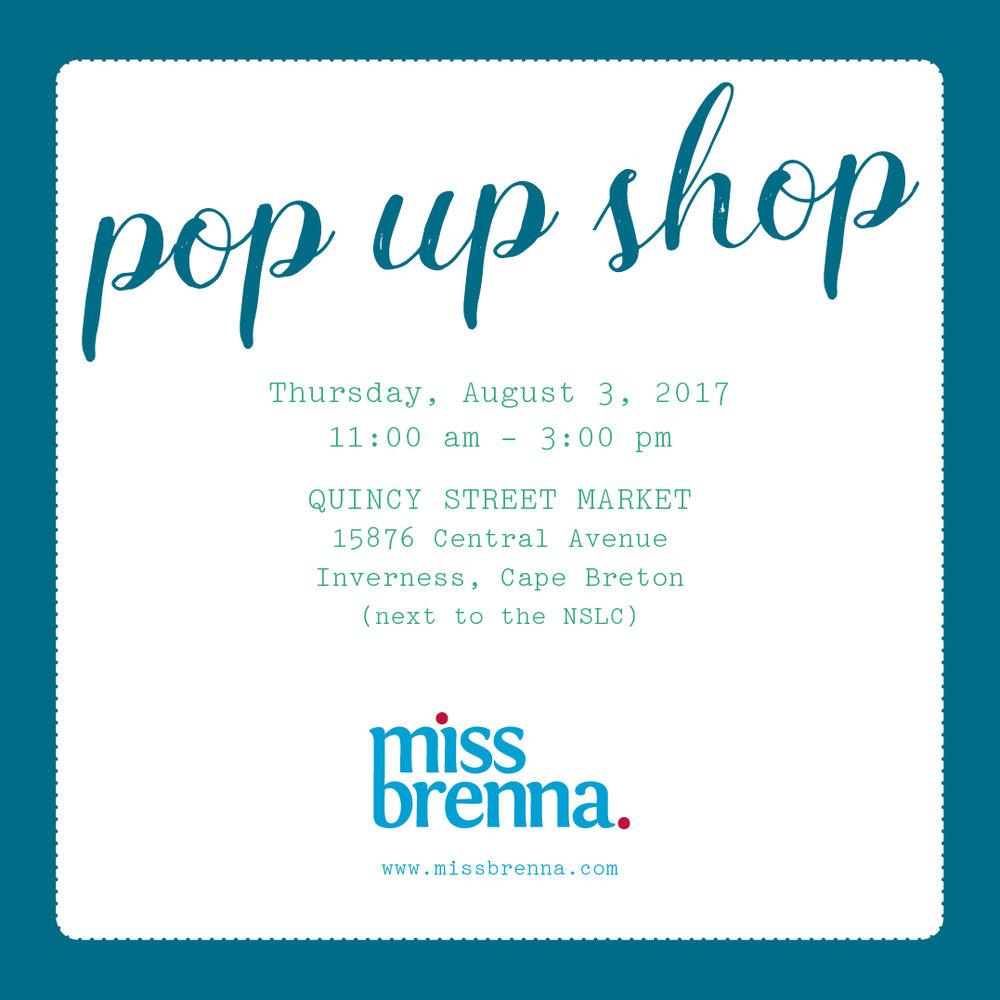 pop up Quincy Market