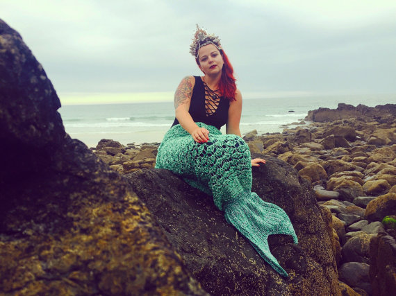 Mermaid Blanket - Foy Quirky Creations