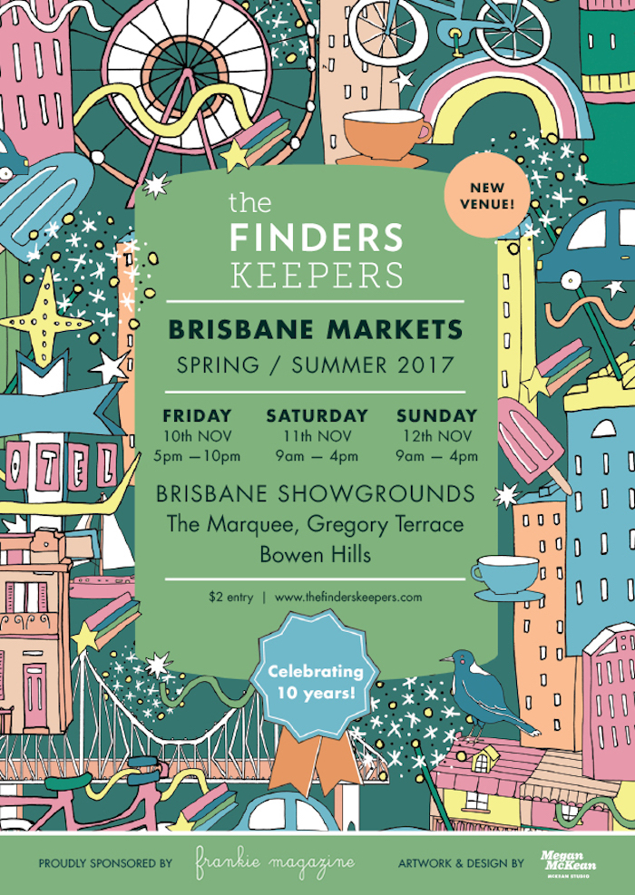 Finders keepers handmade markets brisbane by lazy girl lingerie