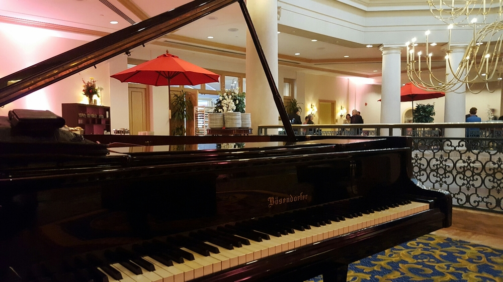 Bosendorfer piano Easter Brunch