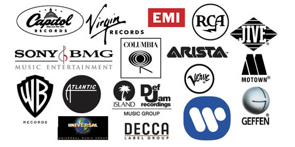 Many record companies and labels - from various time periods
