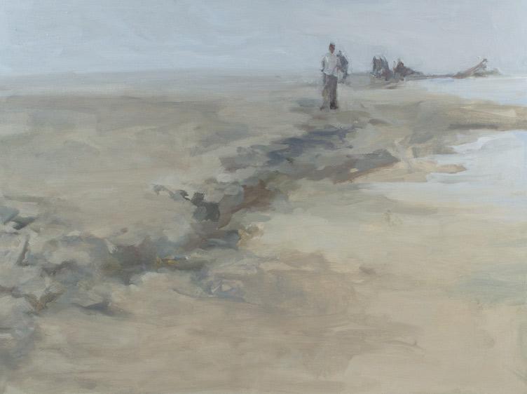 """westward, Oil on Canvas, 36x 48"""", 2012"""