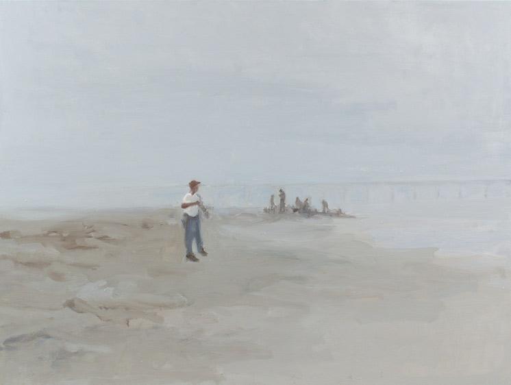 """Coast II, Oil on Canvas, 36 x 48"""", 2012"""