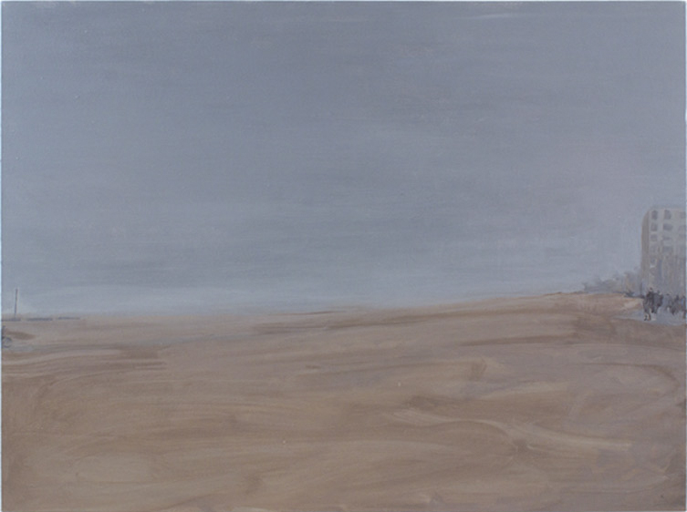 """Boardwalk II Oil on Canvas, 36 x 48"""", 2012"""