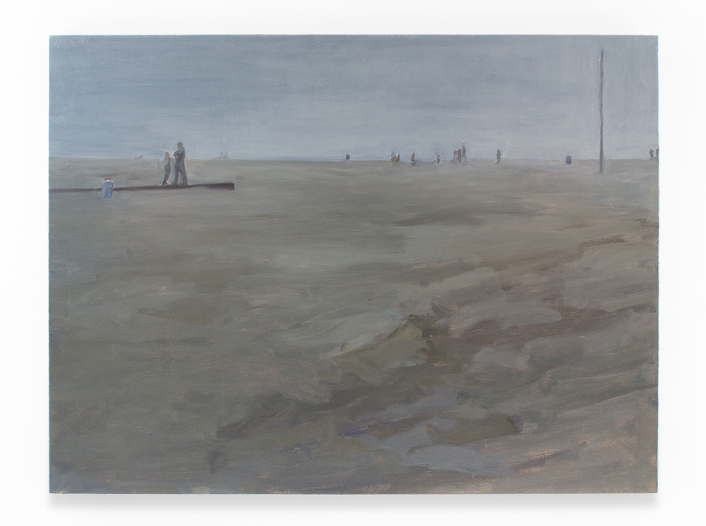 "Coast, IV, Oil on Canvas, 36 x 48"", 2012"