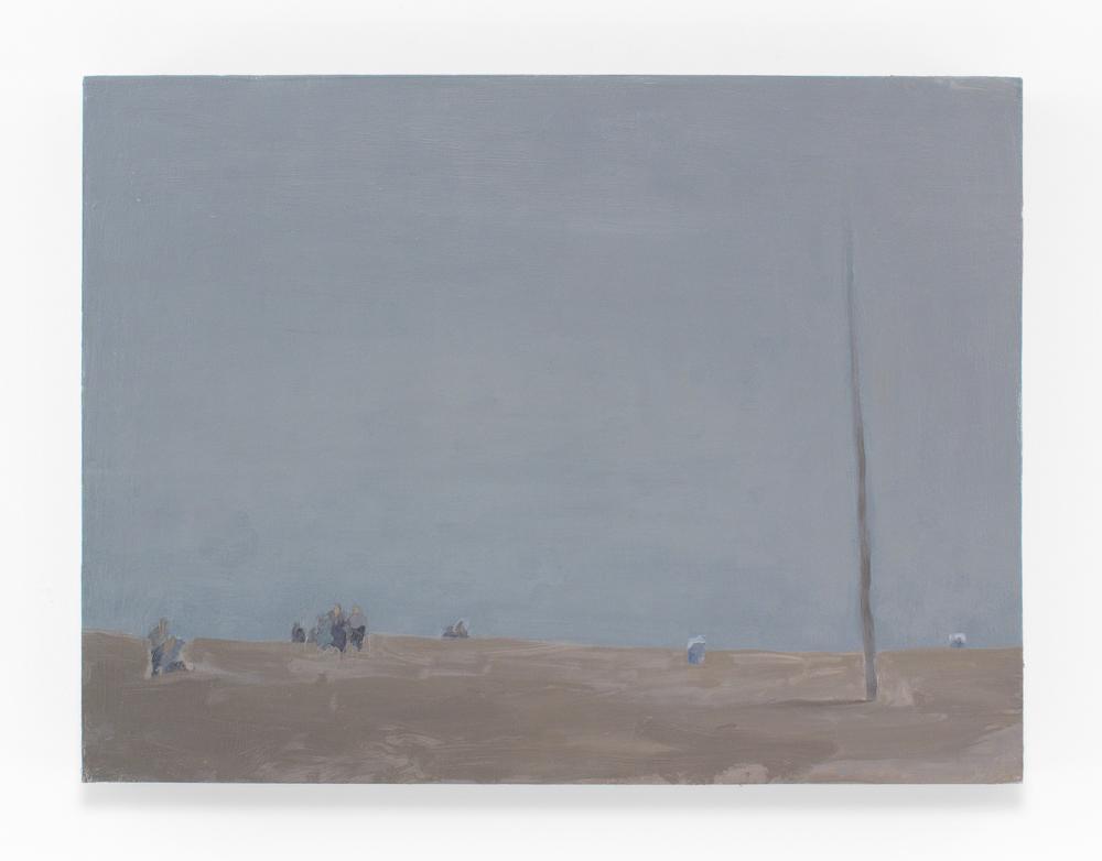 """Coast VI, Oil on Panel, 18 x 24"""", 2011"""