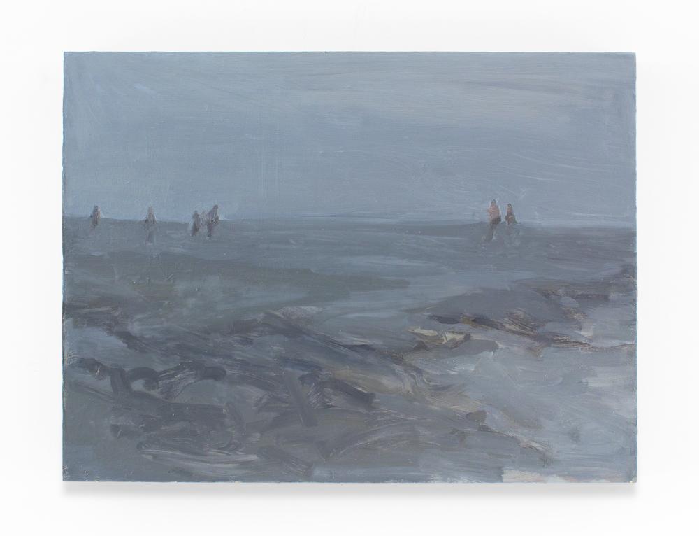 """Tide II, Oil on Panel, 18 x 24"""", 2012"""