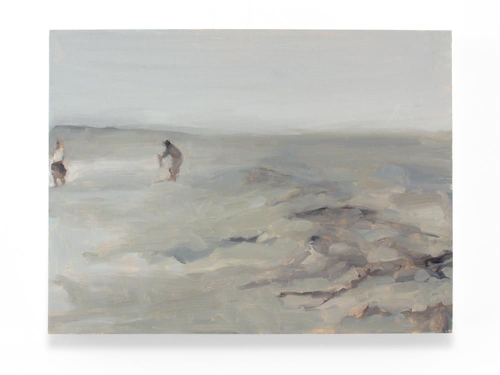 "Tide IV, Oil on Panel, 18 x 36"", 2012"