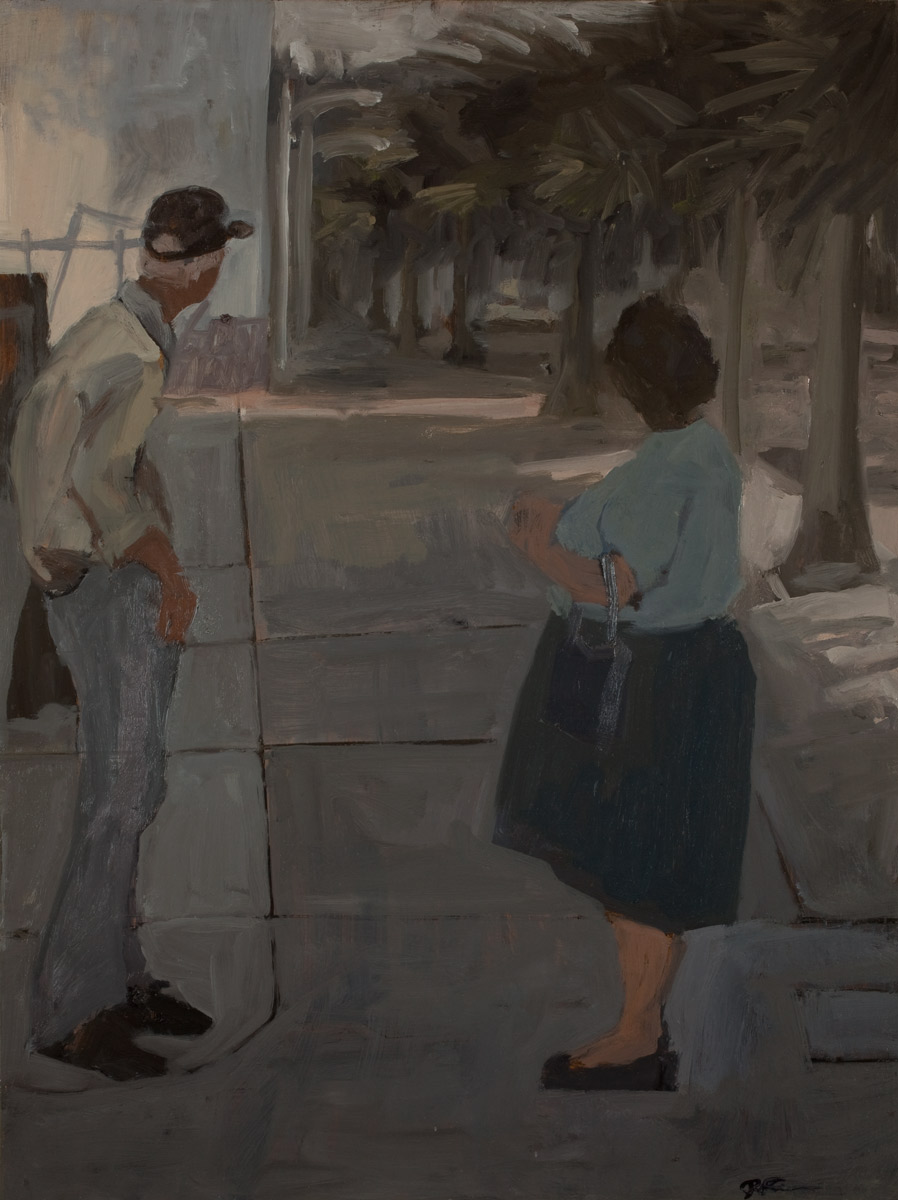 """Union Station, Oil on Board, 24x 18"""", 2010"""