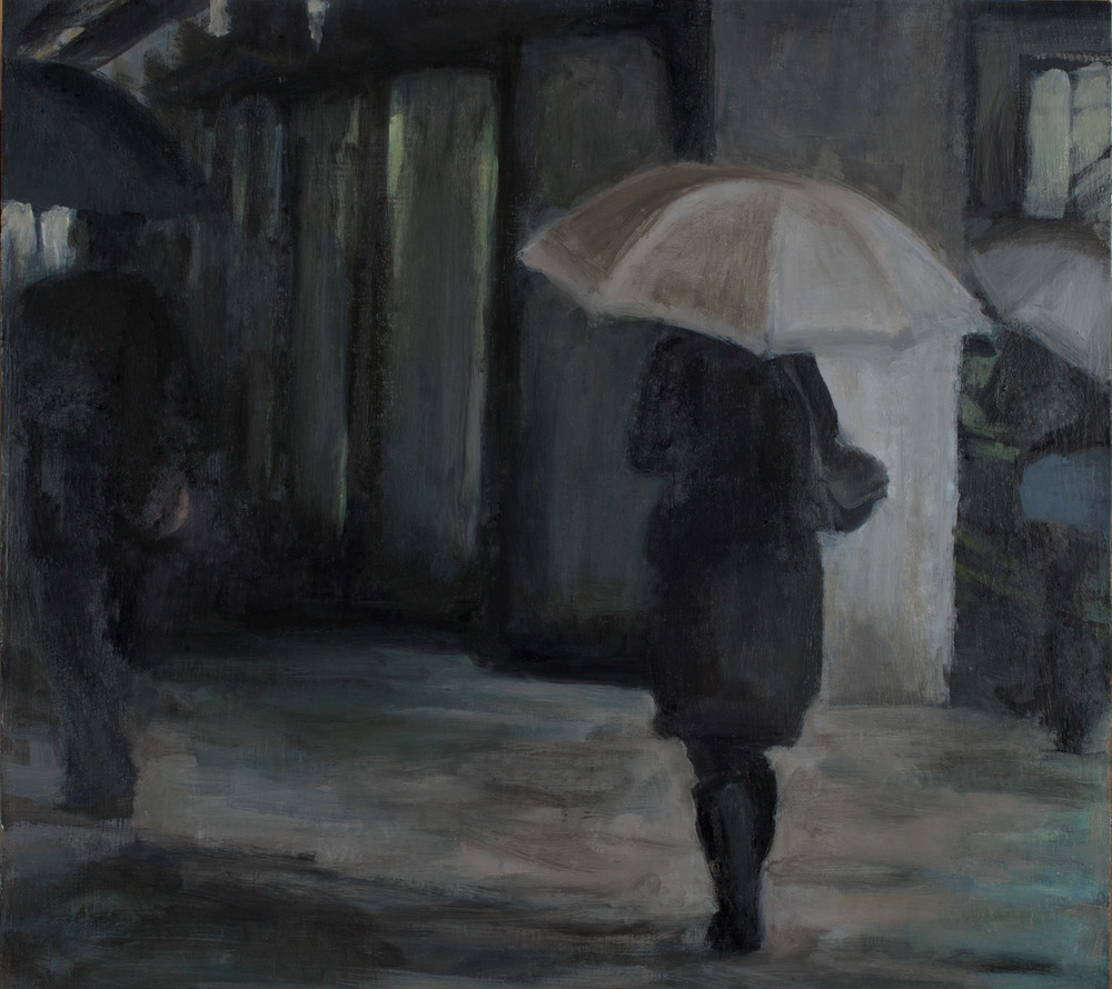 "Passage, Oil on Board, 16x 16"". 2010"