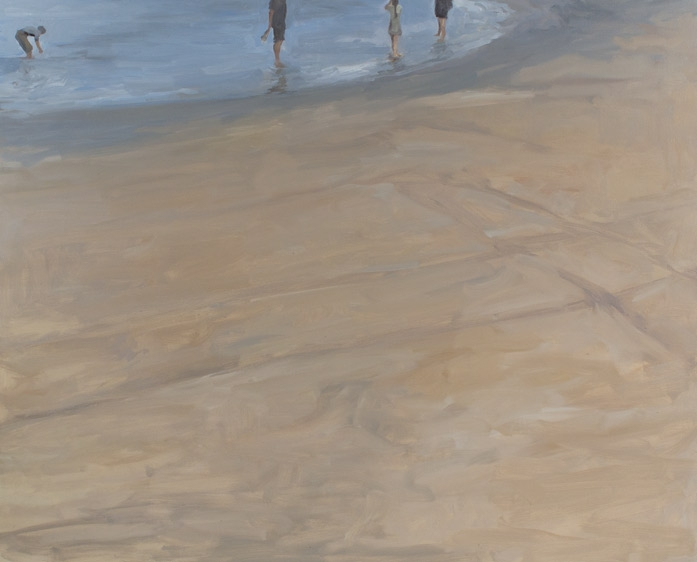 "Shoreline, Oil on Canvas, 48 x 60"", 2012"
