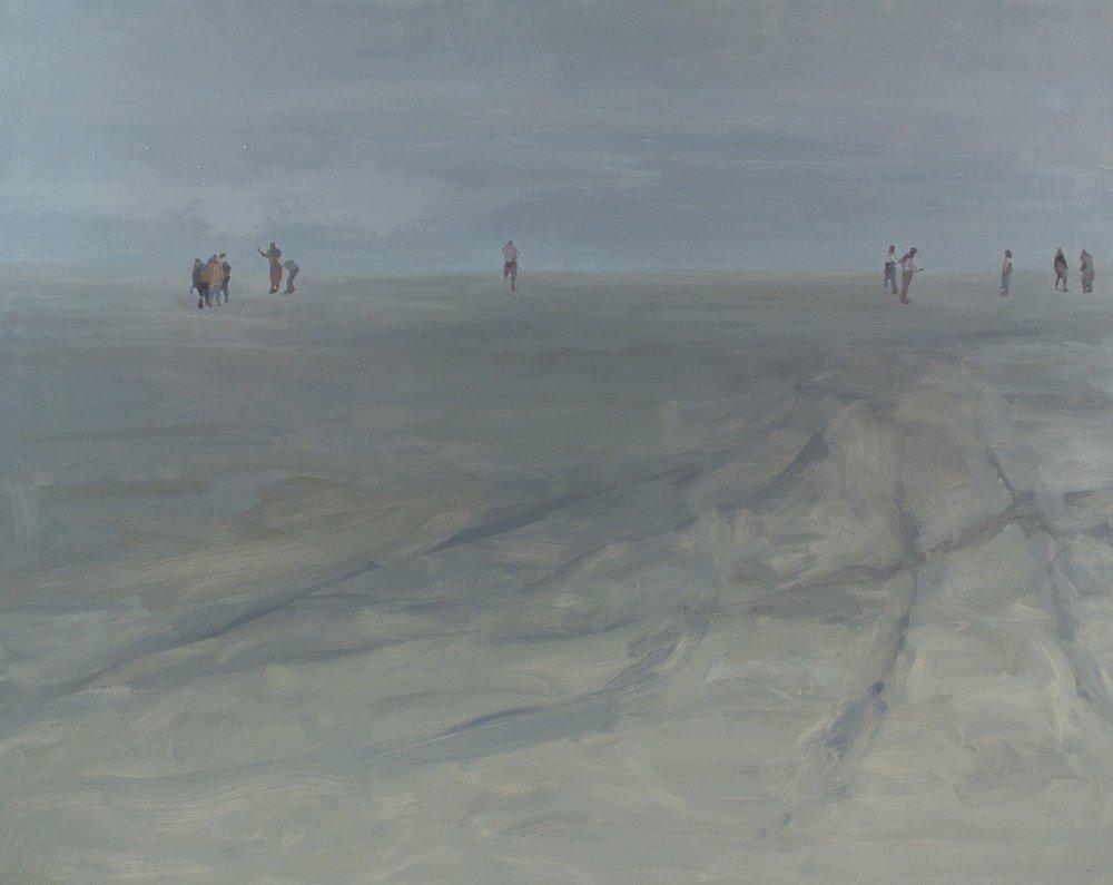 "Shore II , Oil on Canvas, 48 x 60"" 2012"