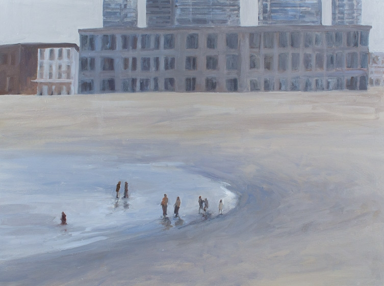 "Coast I, Oil on Canvas, 48 x 60"", 2012"