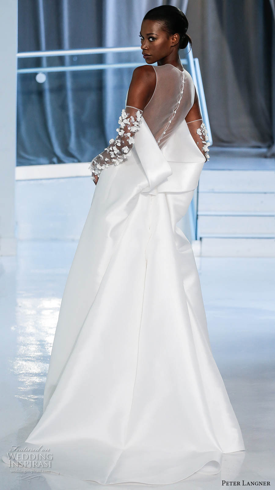 AUSTENpeter-langner-spring-2018-bridal-sleeveless-halter-neck-light-embellished-bodice-simple-elegant-fit-and-flare-wedding-dress-sheer-back-chapel-train-14-bv (2).jpg