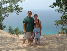 Sage, Scott, and Emily