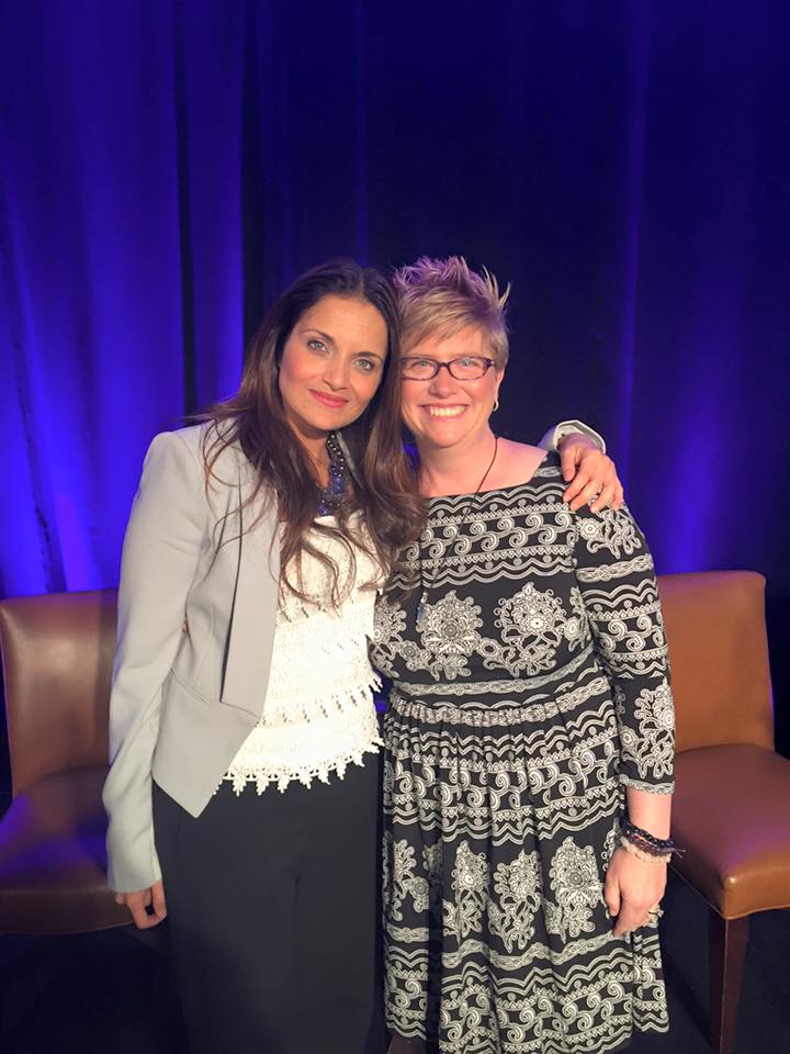 Emily with Dr. Shefali