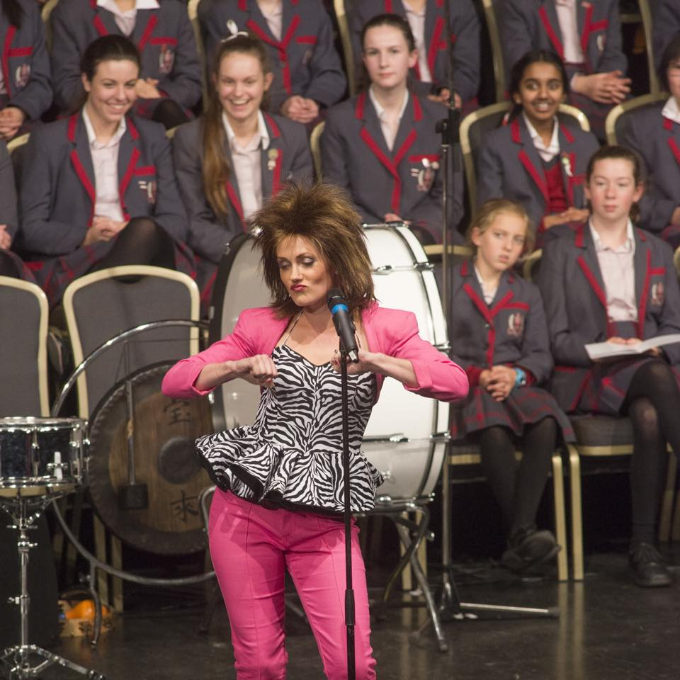 rosa performing at a school concert at melbourne town hall.jpg