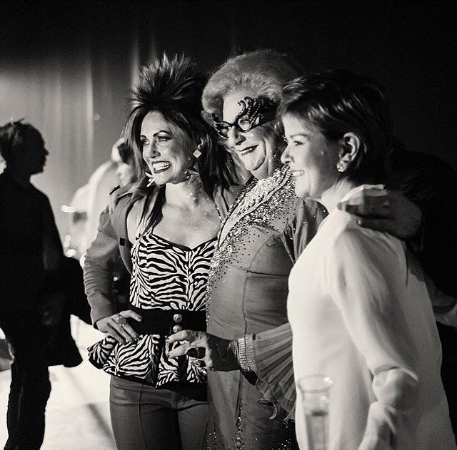 Rosa backstage with Dame Edna.jpg