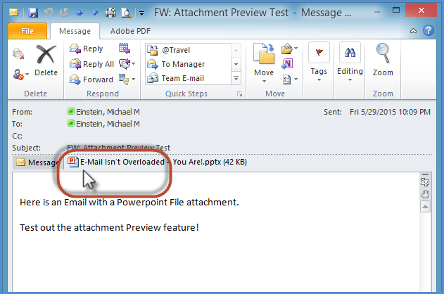 Outlook Attachment Preview Screenshot 2