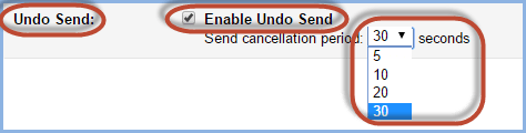 Gmail Undo Send Screenshot3