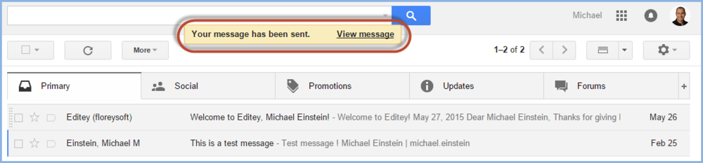 Gmail Undo Send Screenshot7