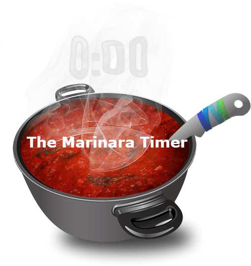 The Marinara Timer for the Pomodoro Technique