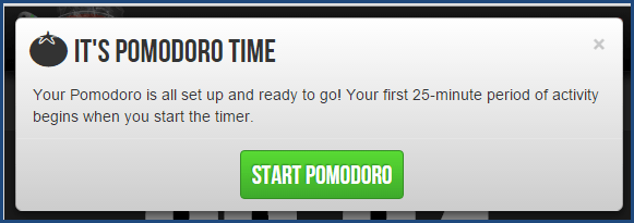 Marinara Timer - Pomodoro Option