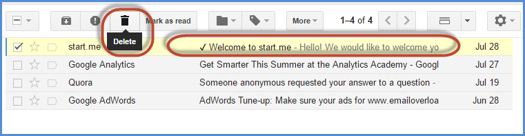 Gmail Inbox Delete Archive Screenshot3