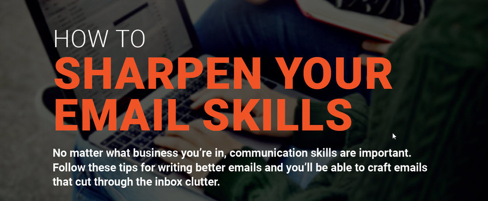 Xverify How to Sharpen Your Email Skills Infographic