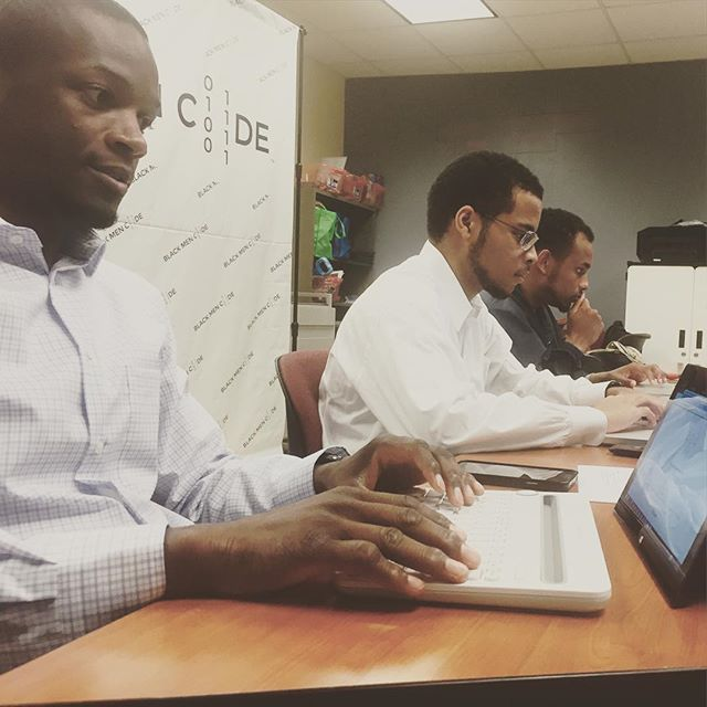 #BlackMenCode Finishing our last session on Front End Web development! Stay tuned for future series coming soon. #tech #webdevelopment #html #css #diversity #entrepreneur #entrepreneurship #google #python #innovation #morehouse