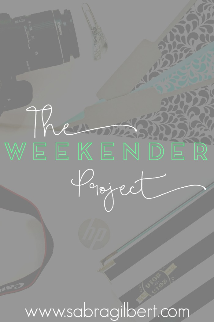 The Weekender Project || 17 Becoming Sabra Gilbert