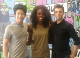 Jade, Andy and Raz run the summerlunch+ program at MLSE